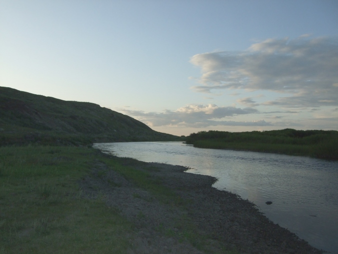 The Halha River